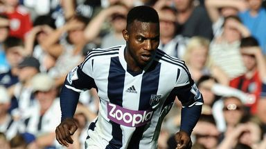 Stephane Sessegnon in action for West Brom