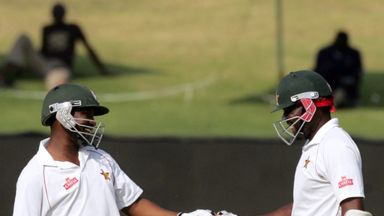 Tino Mawoyo and Hamilton Masakadza: Zimbabwe's second-wicket pair shared century stand