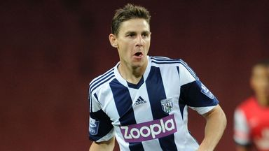 Zoltan Gera: Made return to action against Newcastle