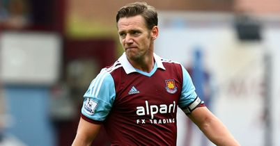Kevin Nolan: Back from a ban for West Ham