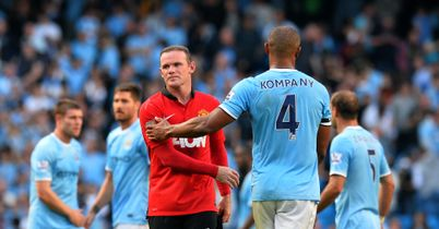 Wayne Rooney: United's stand-out performer in derby defeat
