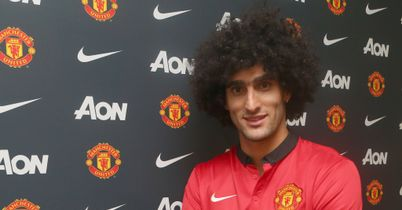 Marouane Fellaini: Links up again with David Moyes