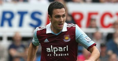Stewart Downing: West Ham winger suffered injury at Liverpool