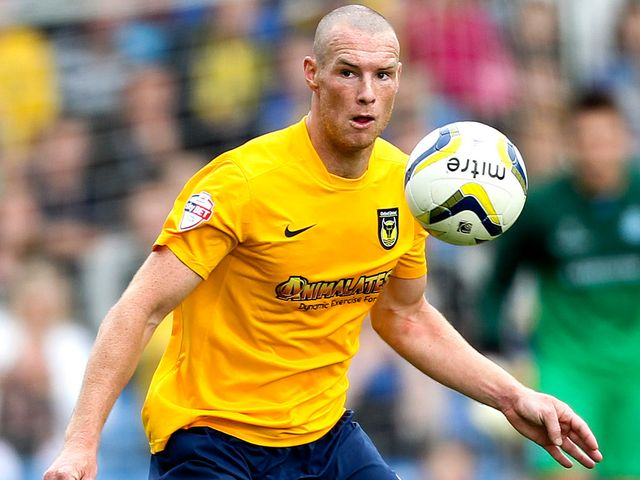 James Constable: Helped Oxford overcome Wrexham