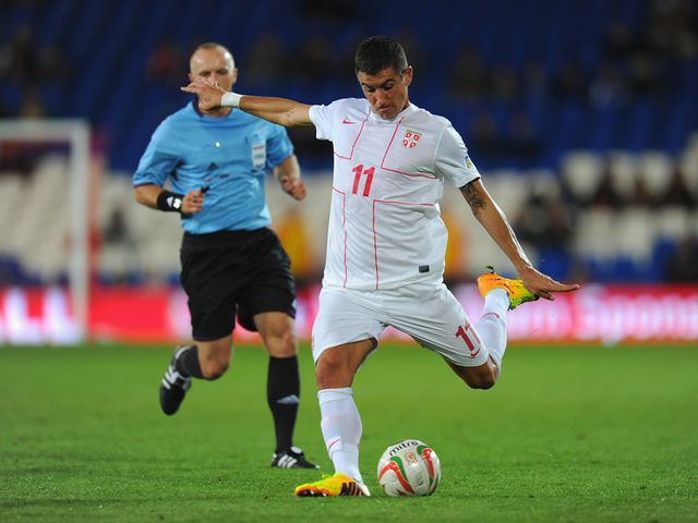 Aleksandar Kolarov: Scored for Serbia