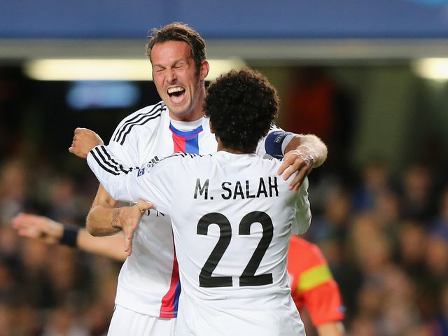 Streller and Salah scored both goals for Basel