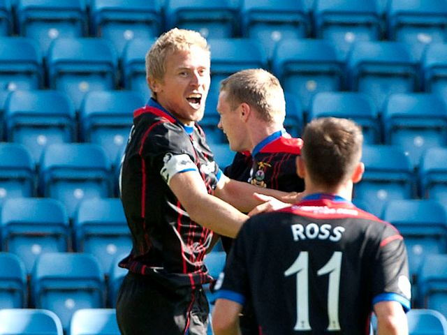 Inverness remain top of the Scottish Premiership