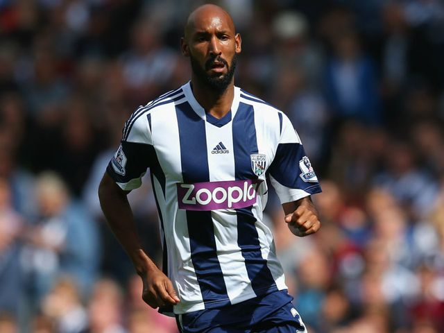 Nicolas Anelka: Part of the West Brom squad