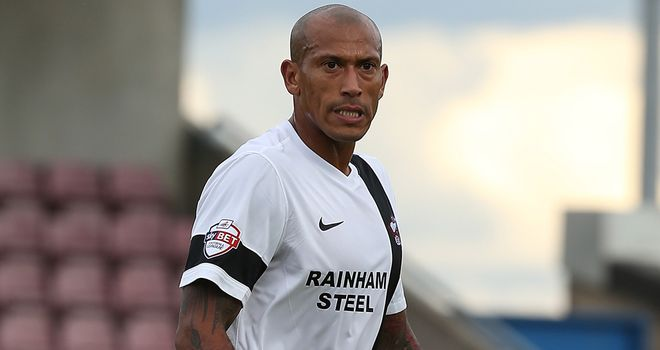Chris Iwelumo: Scored the winner for Scunthorpe