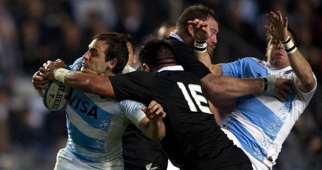 Making them pay: The All Blacks beat Argentina
