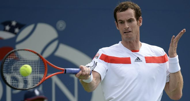 Andy Murray: Looking to raise his game against Stanislas Wawrinka