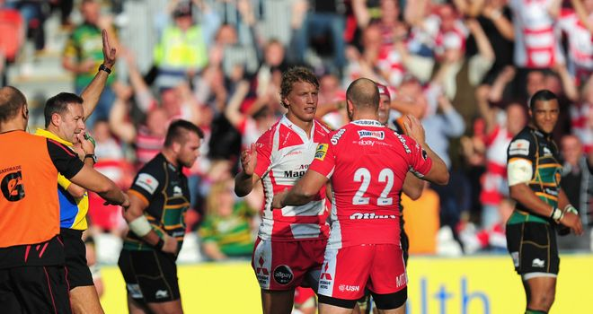 Billy Twelvetrees: Try scorer in the morale boosting win over Northampton