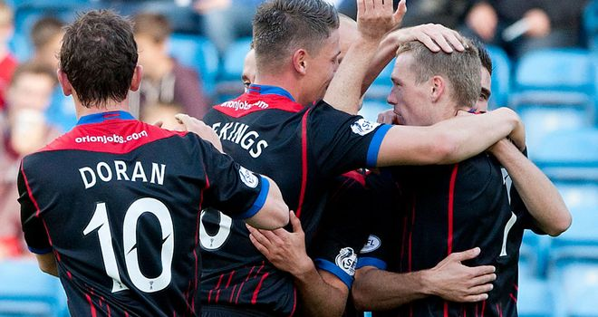 Billy McKay: Six goals in six games for Caley Thistle