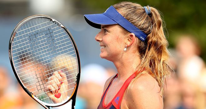 Daniela Hantuchova: Gifted victory in the first round