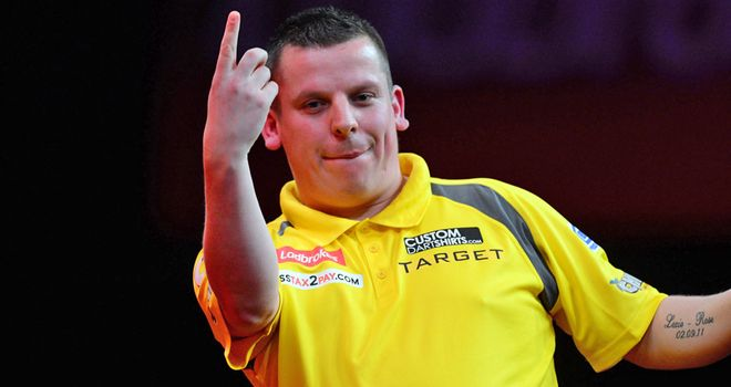 Dave Chisnall: Crowned king in Germany