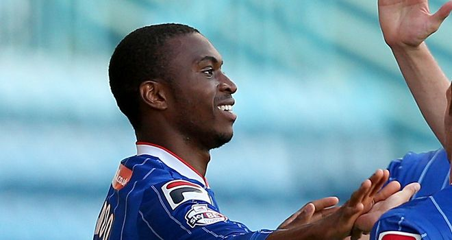 David Amoo: At the double