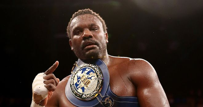 Dereck Chisora: Didn't want to box again after David Haye defeat