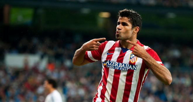 Diego Costa's goal was enough for Atletico Madrid