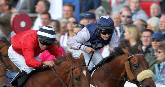 Russian Soul (r): Wins the Renaissance Stakes