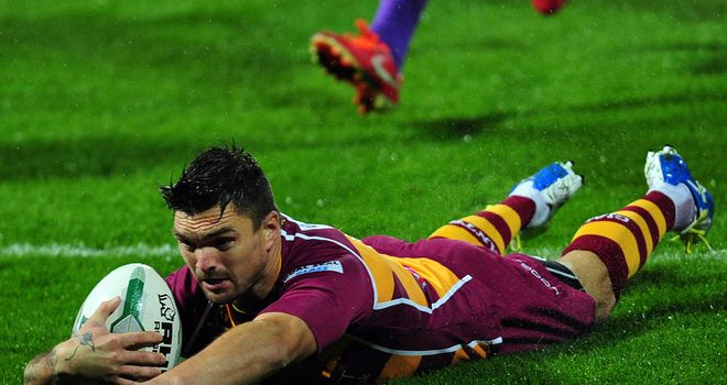 Danny Brough: Has told his Giants team-mates to up their game ahead of Thursday's clash