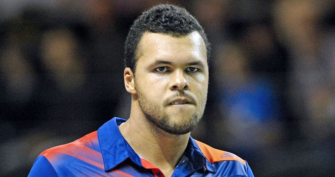 Jo-Wilfried Tsonga: Battled back from a set down to beat Florian Mayer