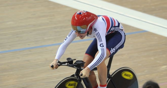 Laura Trott: Won the women's individual pursuit in Manchester