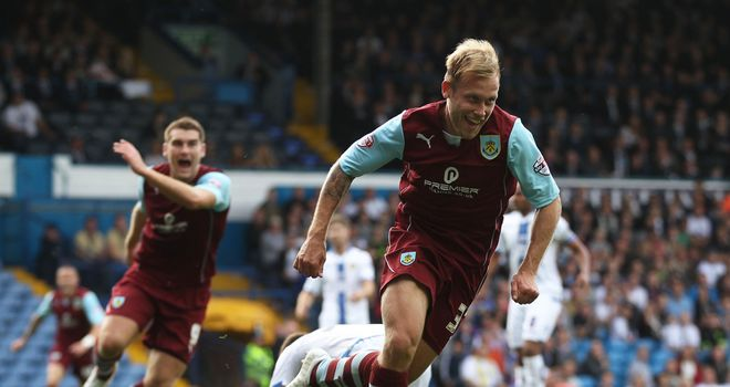 Scott Arfield: Notched a second for Burnley just after half-time
