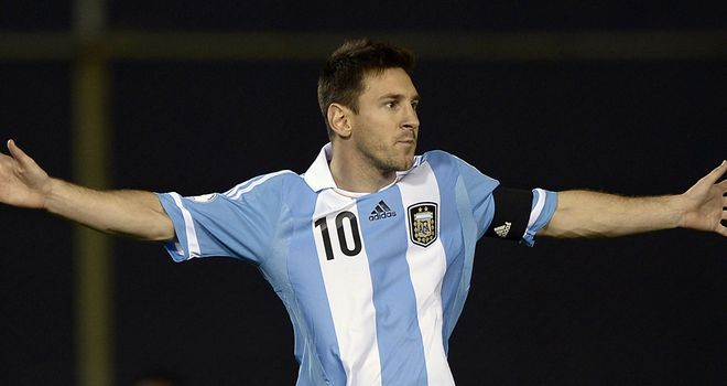 Lionel Messi: Desperate to play in a World Cup final