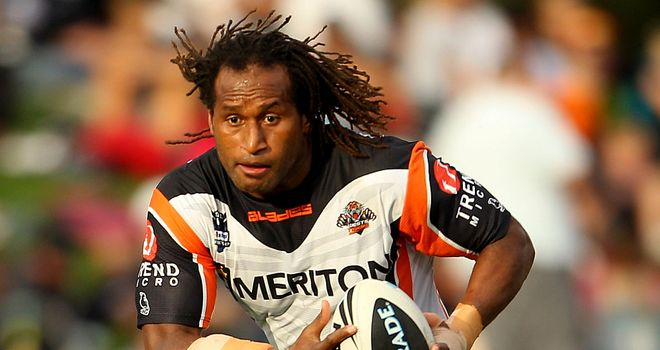 Lote Tuqiri: Back in union after four years in rugby league