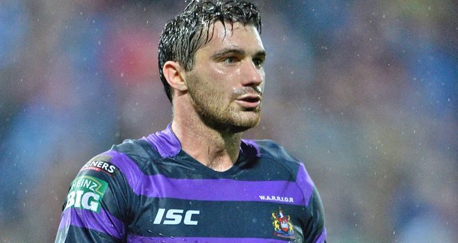 Matty Smith: captained the Wigan side in Hamilton