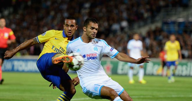 Theo Walcott: Opened the scoring at the Stade Velodrome