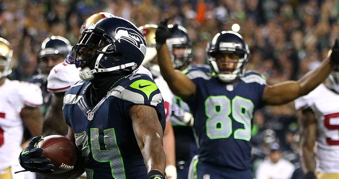Marshawn Lynch has been in beast mode all season for Seattle