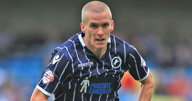Steve Morison: On target for the home side