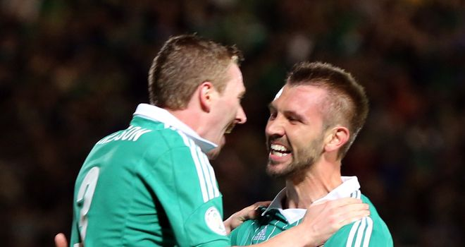Gareth McAuley: Wants Northern Ireland to make amends for their recent embarrassing defeat in Luxembourg