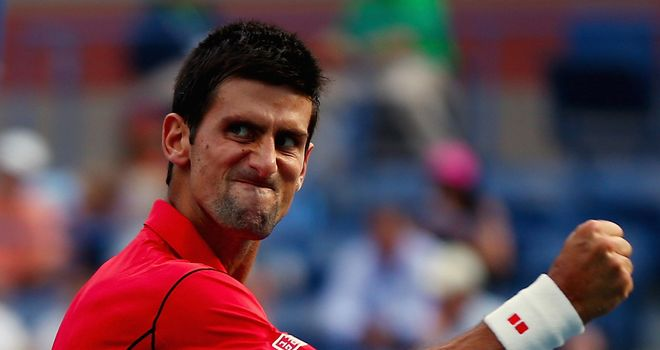 Novak Djokovic: Could face Andy Murray in the semi-finals of the US Open