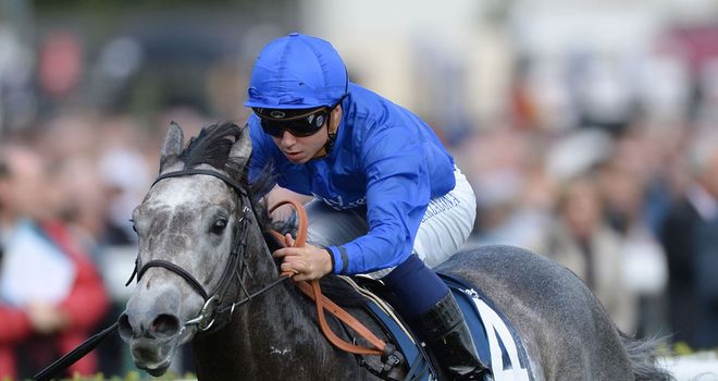 Outstrip: Looking to win Dewhurst for Godolphin