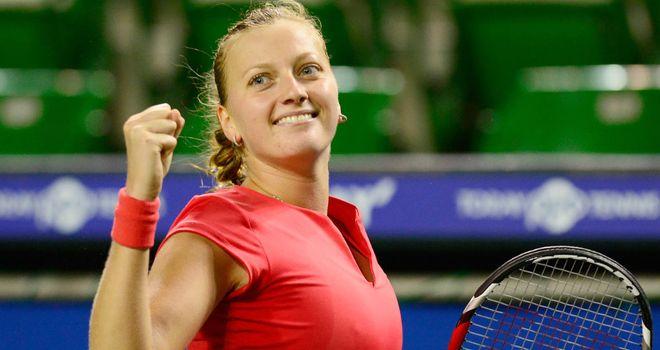 Petra Kvitova: Will face Angelique Kerber in Tokyo final