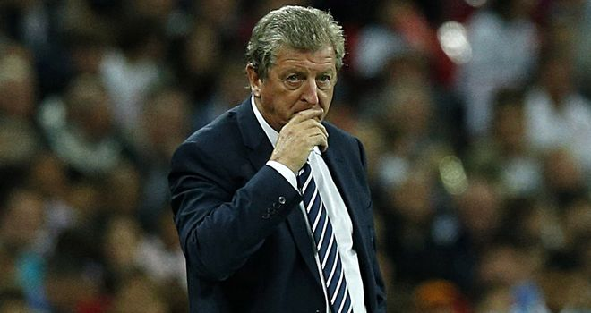 Roy Hodgson: England's manager could be without three of his strikers against Moldova