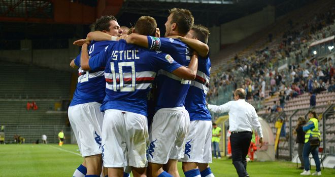 Sampdoria: Recorded a much-needed win in Serie A