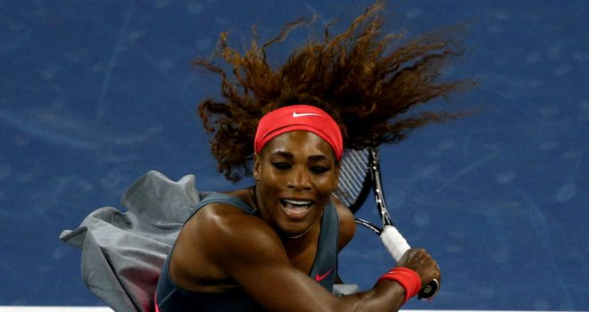 Serena Williams: Recorded a double bagel against Carla Suarez Navarro