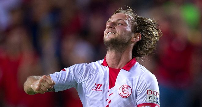 Ivan Rakitic: Helped Sevilla earn another victory