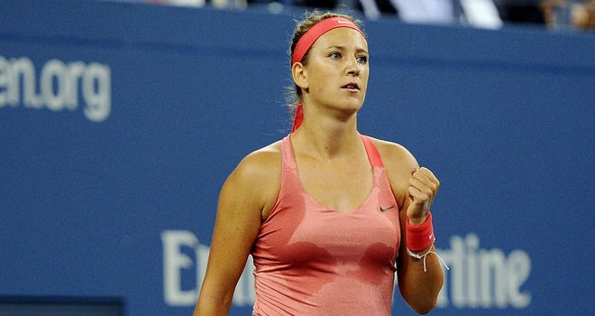 Victoria Azarenka: Brushed aside Daniela Hantuchova in straight sets