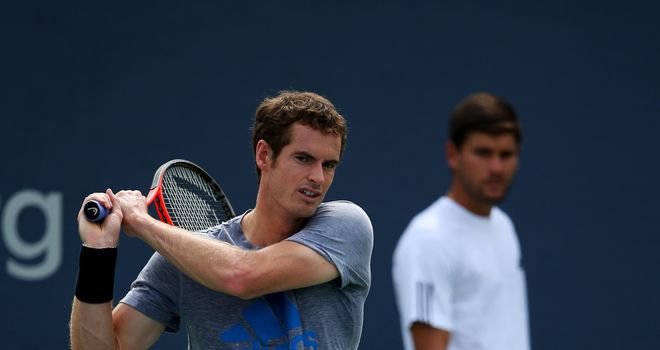 Andy Murray: All set to face Florian Mayer on Arthur Ashe Stadium