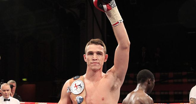 Callum Smith: Makes weight easily at super-middleweight (Lawrence Lustig)