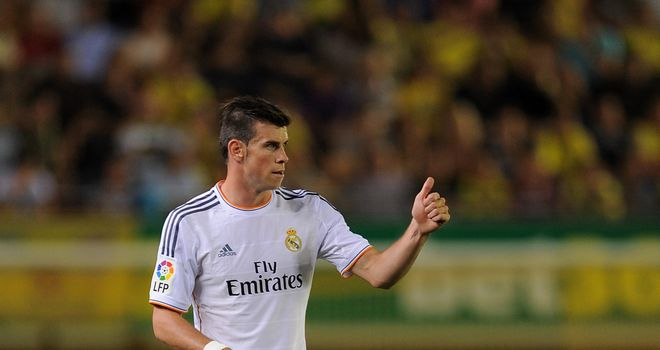 Gareth Bale: Praised by Carlo Ancelotti after his Real Madrid debut