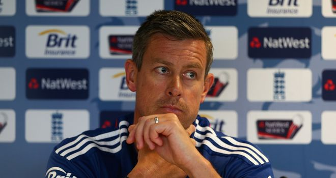 Ashley Giles: Favourite to succeed Andy Flower