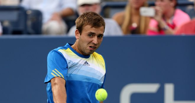 Dan Evans: Was denied the chance of facing Roger Federer in the last 16