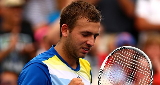 Dan Evans: Looking to make the most of the lucky loser spot