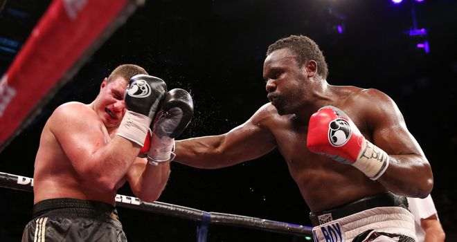 Dereck Chisora (R): Back on the trail for a world title shot