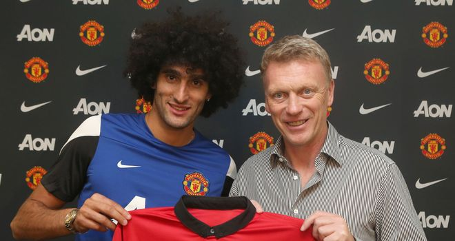 Will Marouane Fellaini's capture sate Manchester United fans or is David Moyes to do lines?